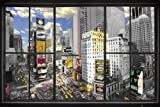 GB eye Poster, 61 x 91,5 cm, Motiv 'New York Maxi-Poster, Fenster