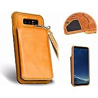 Galaxy Note 8 PU Funda de Cuero,MingKun Cover para Samsung Galaxy Note 8 Funda Cáscara Protectora Carcasa