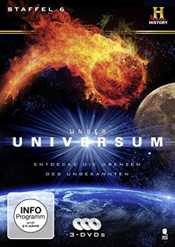 Unser Universum/Geheimnisse des Universums - Staffel 6 (3 DVDs)