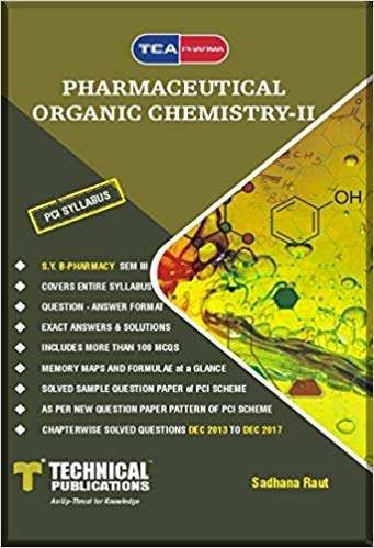 Pharmaceutical Organic Chemistry II for B. PHARMACY PCI 17 (III - BP301T)