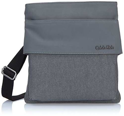 Calvin Klein Jeans Borsa Messenger, CASTLEROCK-PT (Grigio) - J5IJ500426