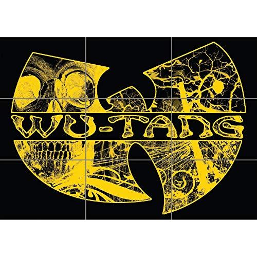 WU TANG HIP HOP RAP CLAN CUSTOM ART WORK GIANT POSTER PLAKAT DRUCK PRINT NC6264