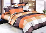 Fresh From Loom Glace Cotton Bed Comforter Set- 1Comforter + 1 Double Bedsheet