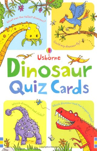 Dinosaur Quiz Cards (Activity and Puzzle Cards)