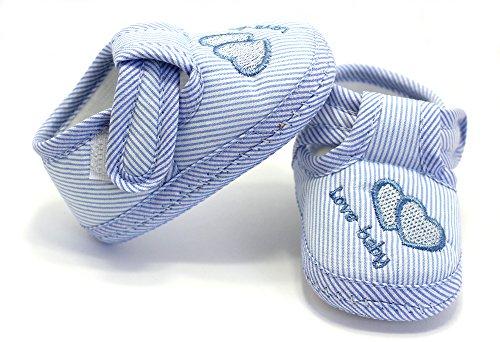 Krabbelschuhe Lauflernschuhe Babyschuhe Hausschuhe Schuhe Gr. 18-19 Blau