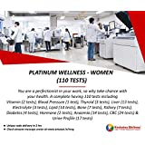 Hindustan Wellness Platinum Wellness - Women Full Body Checkup (110 Tests) (Voucher Code delivered through email in 2 hours after order confirmation)