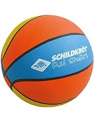 Schildkröt Funsports 2287987 Ballon de Basketball Mixte Enfant, Orange/Bleu/Jaune, Taille 5