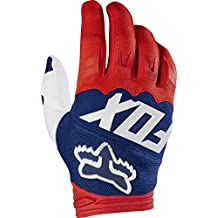 Fox Racing Dirtpaw Race Carrera adulto MotoX Moto Guantes – rojo/blanco