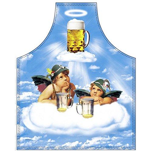 Zwei Engel im Himmel der Bayern mit dem heiligen Masskrug frei nach Raffael - Inkl. Urkunde als Geschenk
