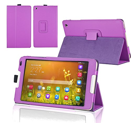 Navitech Lilanes Case Cover mit Multi Stand Funktion für das Huawei MediaPad M1 8.0