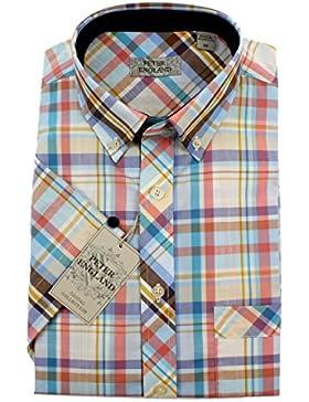 Peter England - Camisa casual - para hombre