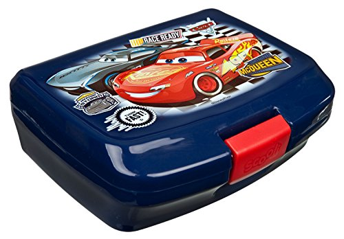 Scooli CAAD9900 Brotzeitdose, Disney Pixar Cars 3, 14 x 7 x 6 cm (Lunchbox Kinder-spiel)