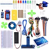 STARTO Kit for BBC Micro:Bit Starter Kit with SG90 Servo, Expansion Board, Battery Holder, Jumper Wires, 220R Resistors for Classroom Teaching DIY Kids Beginners And Projects with Free Tutorial TX02