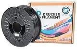 Goedis 3D Drucker Filament PETG 1,75 mm 1kg Rolle für 3D Drucker/Stifte vakuumverpackt (Schwarz)