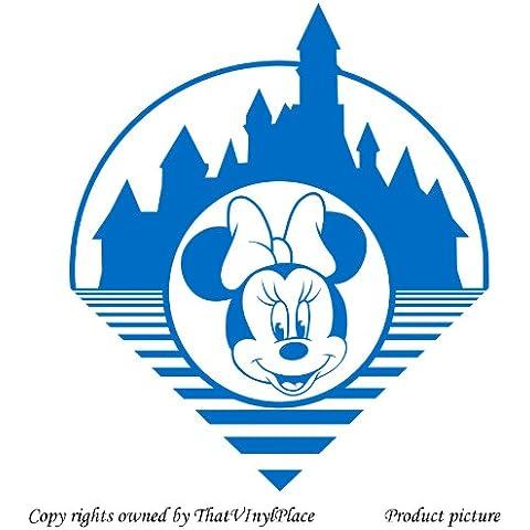 Minnie Mouse–30x 26cm, medio, colori blu Disney,