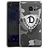HTC U Ultra Hülle Case Handyhülle Sg Dynamo Dresden Logo Fanartikel