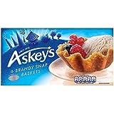 Askeys Brandy Snap cestas 6 por paquete