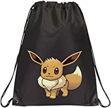 Negro Pokemon Go cordón escuela/PE/Gimnasio/bolsa de Kit