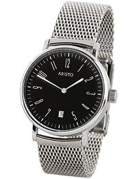 Aristo Vollmer 4H146Q - Reloj , correa de acero inoxidable color plateado