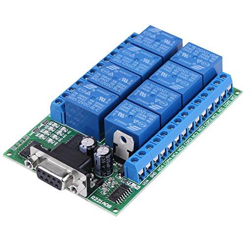 Modulo Relè a 8 Canali, Smart Home Relay Board Arduino Raspberry Pi Optocoupler