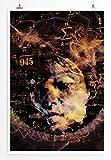 Sinus Art Kunst und Deko Poster - Bild – Mensch und Wissenschaft- Fotodruck in gestochen scharfer Qualität