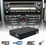Stereo USB SD AUX CD Wechsler Adapter Interface Fahrzeug Mini Cooper R50 R52 R53 Boost Radio
