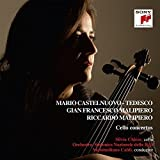 Malipiero, Castelnuovo-Tedesco, Cello Concertos