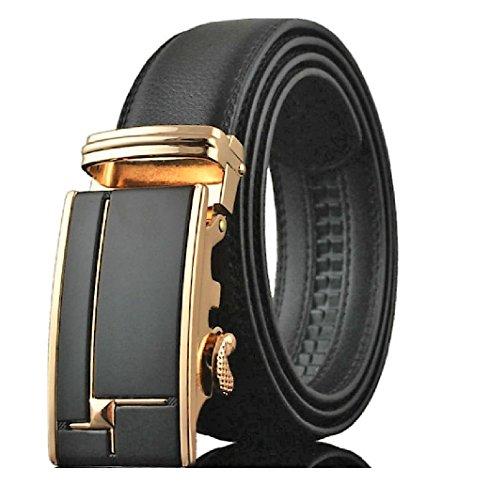luxury-leather-mens-automatic-sliding-ratchet-belt-15-35mm-wide-smart-black-polished-patterned-gold-