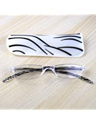 THG™ Unsex Reading Glasses Clear Lens +1.0+1.5+2.0+2.5+3.0