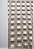 LaserKris Armoire Murale décorative pour radiateur Panneau MDF perforé 4 x 2 SQ2