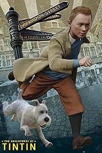 Poster Les aventures de Tintin et Milou (61cm x 91,5cm)