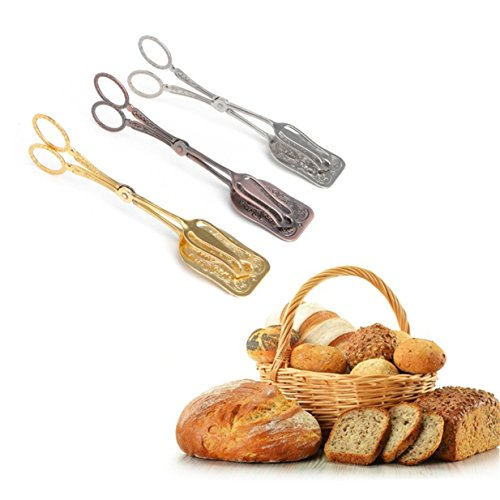 Lalang Retro Zuckerzange, Essen Clip, Lebensmittel-Clip, Gewürze Clip Zuckerzange Candy Bar Hochzeit (Gold Farbe) Gewürz-bar
