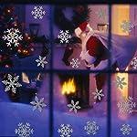 108-PZ-Natale-Adesivi-Finestre-Finestra-Decorazione-Natale-Rimovibile-Natale-Vetrofanie-Adesivi-Murali-Fai-da-te-Finestra-Decorazione-Vetrina-Wallpaper-fiocco-di-neve