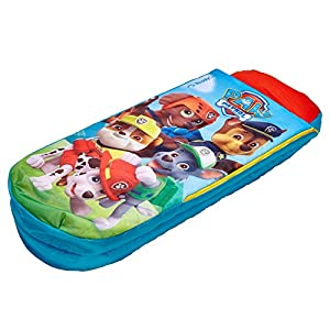 Paw Patrol Junior ReadyBed - Inflatable Kids Air Bed and Sleeping Bag in One