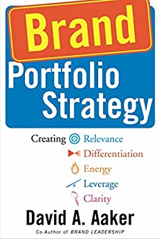 Brand Portfolio Strategy: Creating Relevance, Differentiation, Energy, Leverage, and Clarity (English Edition) par [Aaker, David A.]