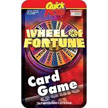 Médiators rapide roue de la fortune de voyage Jeu de cartes dans une boîte métallique