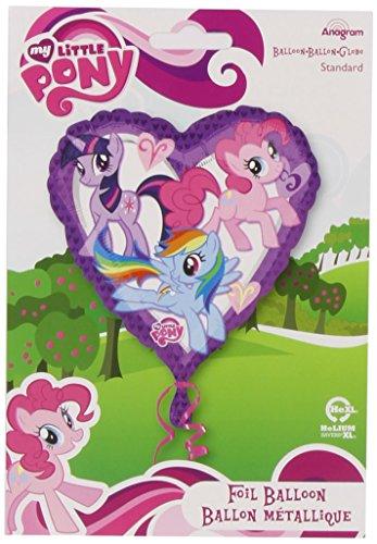 onal My Little Pony Herz Ballon (Billig Und Einfach Fancy Dress)