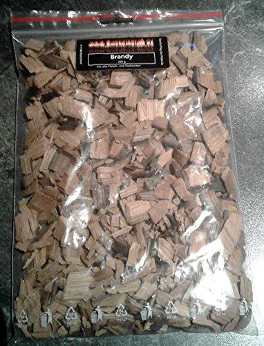 200g Bar (BBQ Brandy Chips aus echten Barriquefässern 200g Woodchips)
