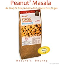 Grainny's Zero Oil, Air Fried, Gluten Free, Vegan, and Natural Peanut' Masala (180 Gms.)