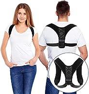 Bestmaple 2019 Back Shoulder Posture Correction Adjustable Adult Sports Safety Back Support Corset Spine Suppo