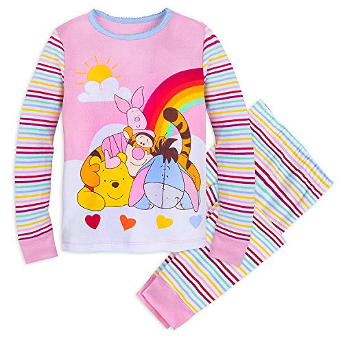 d251b46a7 Disney Winnie The Pooh and Pals PJ Pals Set for Girls Size 5 Multi