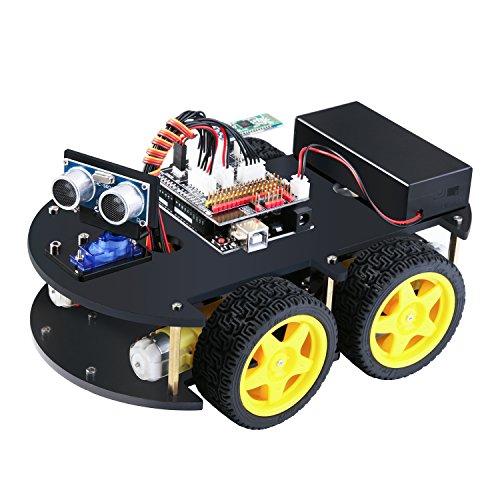 Robot Elegoo Coche Proyecto Uno Inteligente V3 Con De 0 R3 Kit m80vOnNw