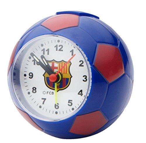 FC Barcelona–Despertador con forma de balón de fútbol de fútbol FC Barcelona