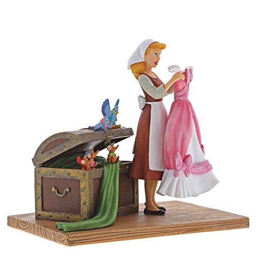Enchanting Disney Tal Sorpresa-Figurina de Cenicienta, Resina, 41.00x2