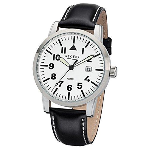 Regent Reloj Analogico para Hombre de Cuarzo con Correa en Cuero 11110780