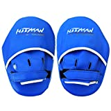 Blue Straight Hook & Jab Boxing Pad / Focus Pad (Blue)