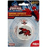 Dekora 339008 - Capsulas cupcake con diseno Spiderman