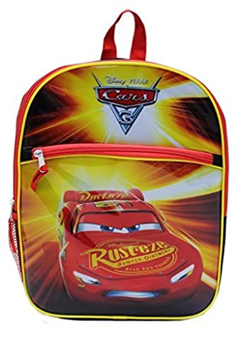 Disney Pixar Cars 3 Rust-EZE Exclusive Designed Multicolored Kids Attractive Bag Boys School
