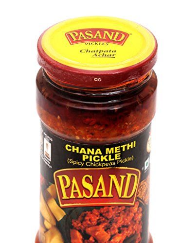 Pasand Chana Methi Pickle 400 G In Glass Jar