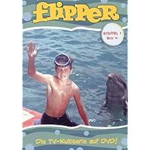Flipper 10/x 8/Werbe Foto Brian Kelly als Porter Ricks Luke Halpin als Sandy Ricks und Tommy Norden als Bud Ricks